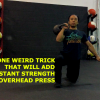Half Kneeling 1 Arm KB Press