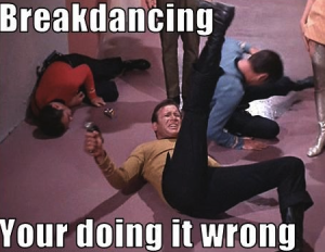 Breakdancing