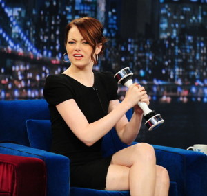 Emma Stone - Shake Weight