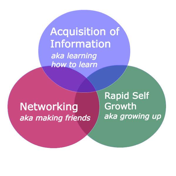 Internship Venn Diagram